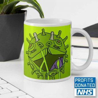 viral puppy coffee mug