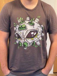 printdub customer photo alien virus t-shirt