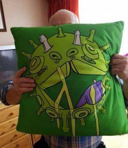 printdub customer review cushion